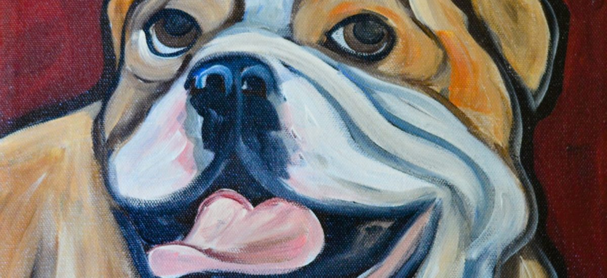 Win a Bulldog Painting!