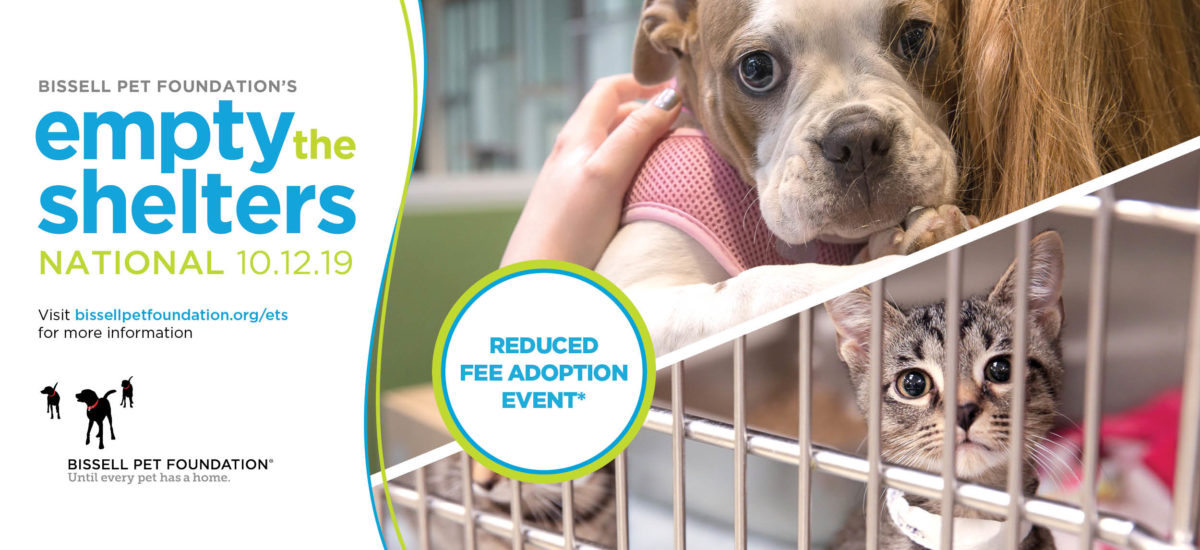 Empty the Shelters – October 12