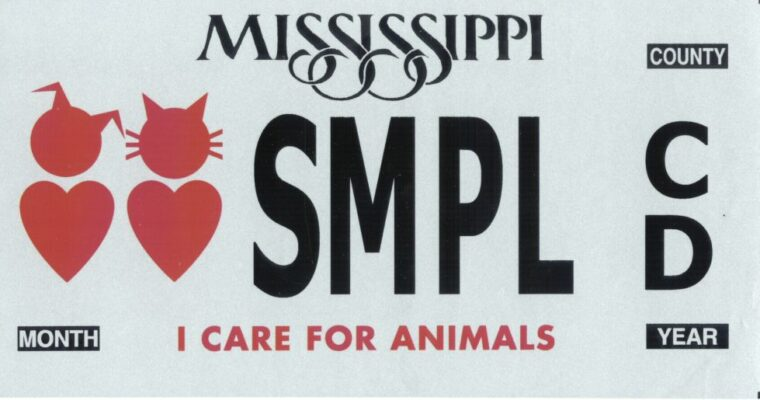 "OCHS Receives ""I Care for Animals"" Car Tag Grant"