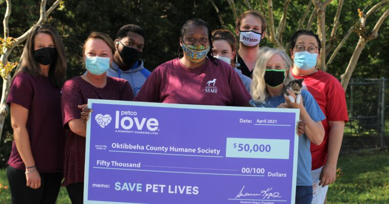 OCHS Receives Grant from Petco Love