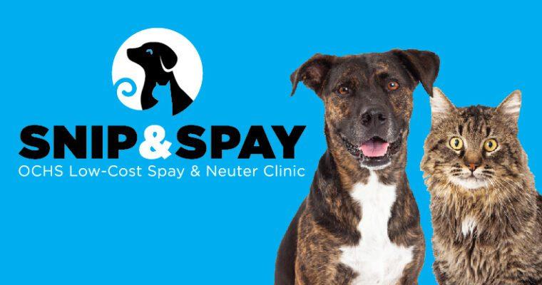 Snip & Spay Clinic